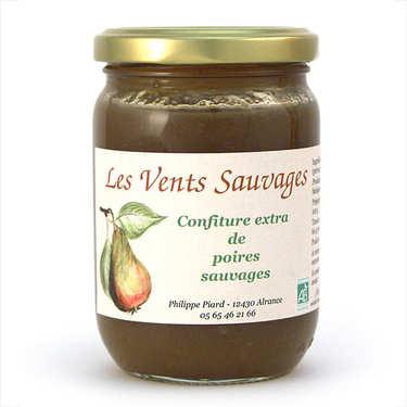 Organic wild pear jam