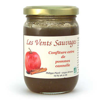 Les vents sauvages - Organic Apple & Cinnamon Jam