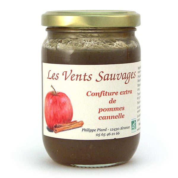 Confiture de pommes cannelle bio