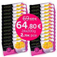 Kalys Gastronomie - 24 sachets de riz tendre de konjac en promo (gohan)