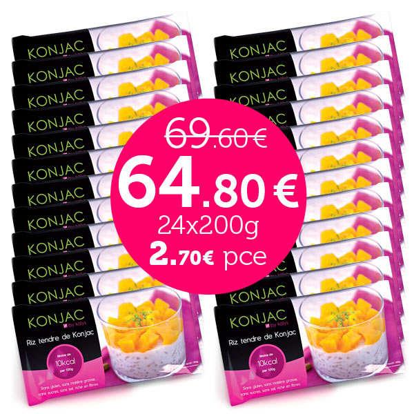 24 bags ofGohan - Tender rice konjac
