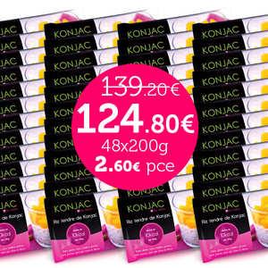 Kalys Gastronomie - 48 bags of Gohan - Tender rice konjac