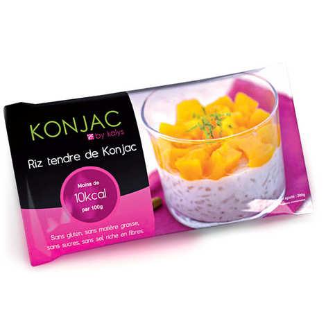 Kalys Gastronomie - 48 sachets de riz tendre de konjac - offre spéciale (gohan)