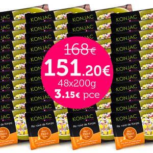Kalys Gastronomie - 48 bags of gohan - Round rice konjac