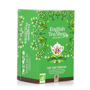 English Tea Shop - Thé vert Sencha bio - sachet mousseline