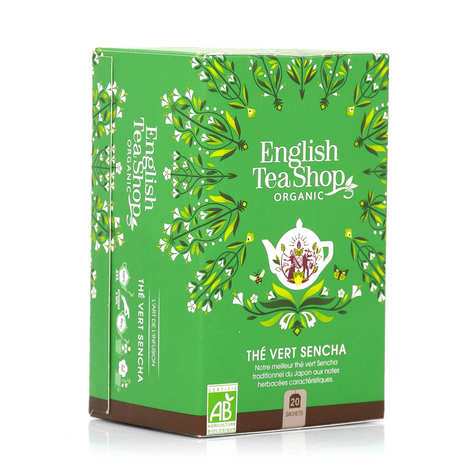 English Tea Shop - Thé vert Sencha du japon bio en sachets