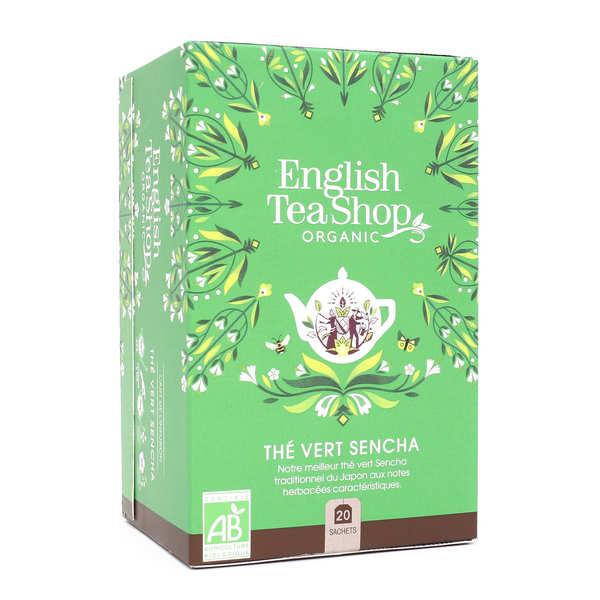 """Organic """"Sencha"""" Green Tea - muslin sachet"""