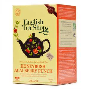 English Tea Shop - Infusion rooibos à l'honeybush et baies d'açai bio - sachet mousseline