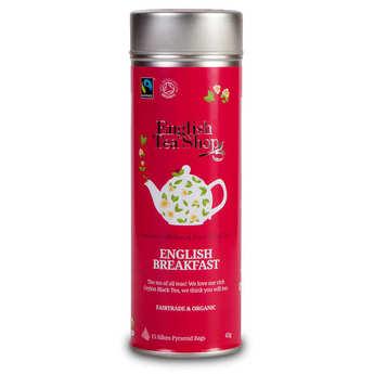 English Tea Shop - Thé English Breakfast bio - Boite métal sachets
