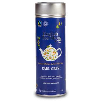 English Tea Shop - Thé Earl Grey bio - Boite métal sachets