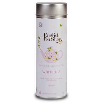 English Tea Shop - Pur thé blanc - Boite métal sachets