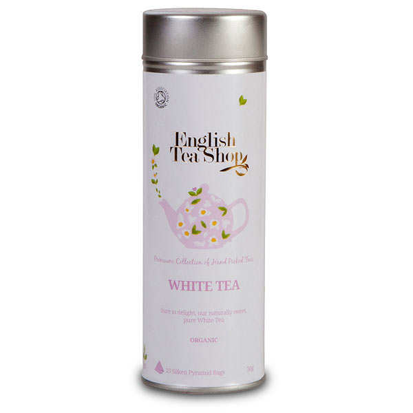 Pur thé blanc - Boite métal sachets