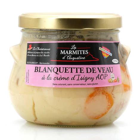 La Chaiseronne - Blanquette de veau à la crème d'Isigny AOP