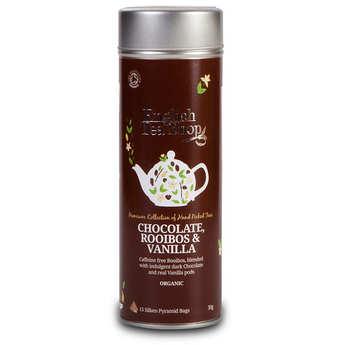 English Tea Shop - Organic Chocolate rooibos and vanilla Tea - Metal box