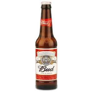 Budweiser - Bud - Bière Blonde américaine - 5%