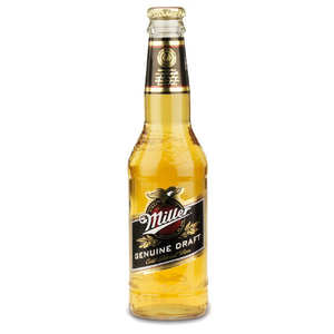 Miller Brewing Company - Miller Genuine Draft - Bière blonde americaine - 4.6%