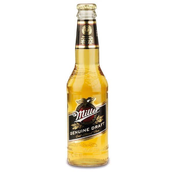 Blond Miller Genuine Draft Beer - 4.6%