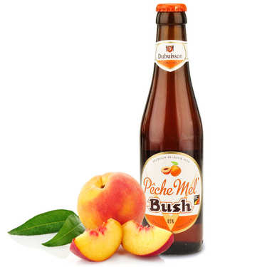 Pêche Mel Bush- Peach flavor Beer of Belgium - 8.5%