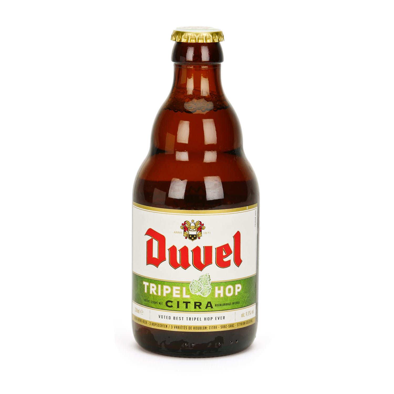 Duvel Tripel Citra Hop beer 2017 - 9.5%