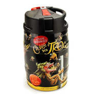 "Brasserie Dubuisson - Blond ""La Cuvée des Trolls"" Belgian beer 7% - Beer keg"