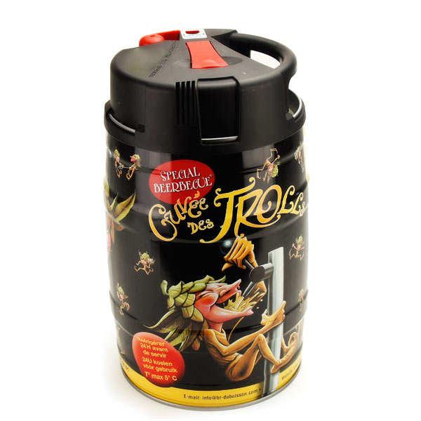 """Blond """"La Cuvée des Trolls"""" Belgian beer 7% - Beer keg"""