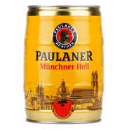 Paulaner - Paulaner Muncher original 4.9% - Bière blonde en fûts 5L