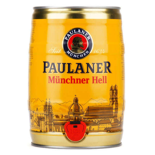 Blond Paulaner Muncher original 4.9% - Beer keg