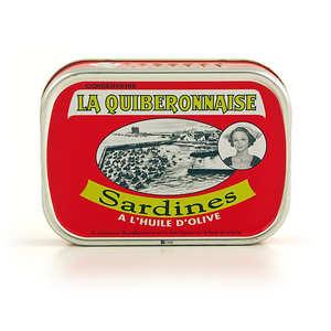 La quiberonnaise - Boneless sardines in olive oil