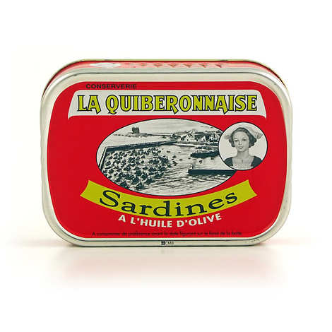 La quiberonnaise - Sardines millésimées sans arêtes à l'huile d'olive