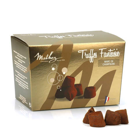 Chocolat Mathez - Chocolate Truffles with Marc de Champagne