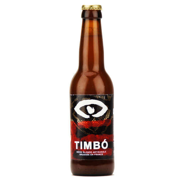 Bière blonde française Timbo au Guarana - 6.5%