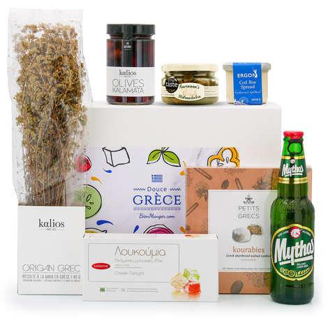 """BienManger paniers garnis - Coffret cadeau """"Douce Grèce"""""""