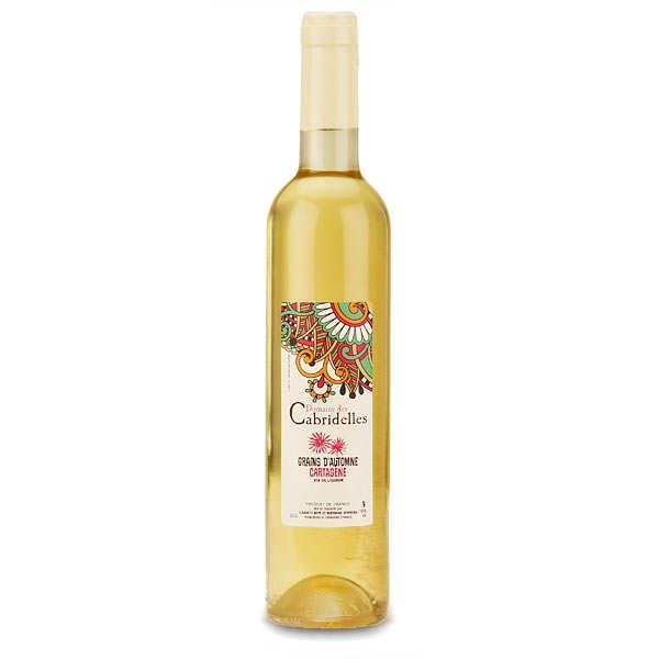 Cartagène blanche - vin de liqueur - 16%