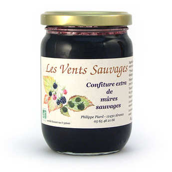 Les vents sauvages - Organic Wild Blackberry Jam