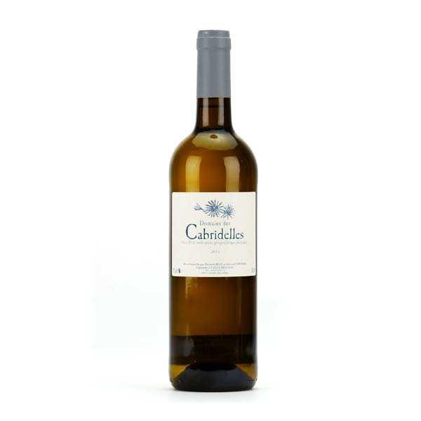 Vin de Lozère blanc du Domaine des Cabridelles - IGP Pays d'Oc