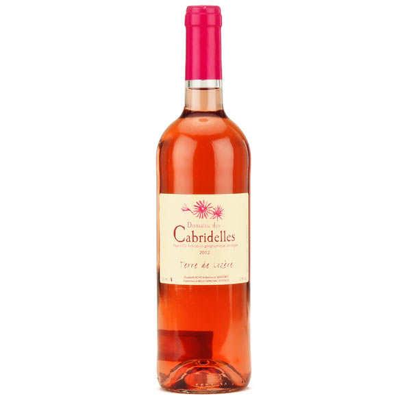 Vin de Lozère rosé du Domaine des Cabridelles - IGP Pays d'Oc