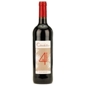 Domaine de Cabridelles - A 4 mains - Pays d'oc red wine 12%