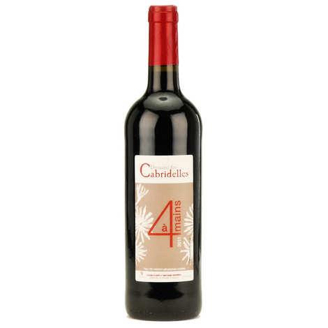 Domaine de Cabridelles - A 4 mains - Pays d'oc 12% - Vin rouge