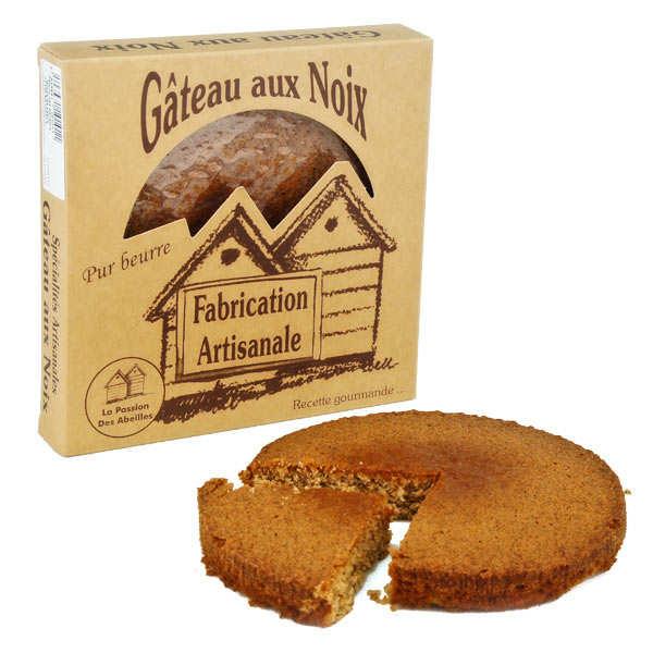 Gâteau aux noix pur beurre BIO