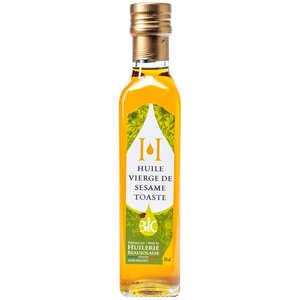 Huilerie Beaujolaise - Toasted sesame virgin oil