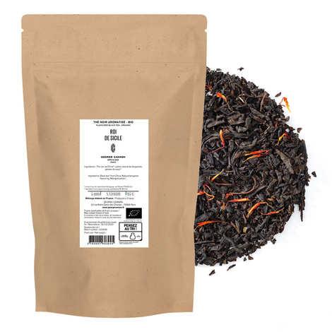 Ets George Cannon - Organic Earl Grey blue flower black tea