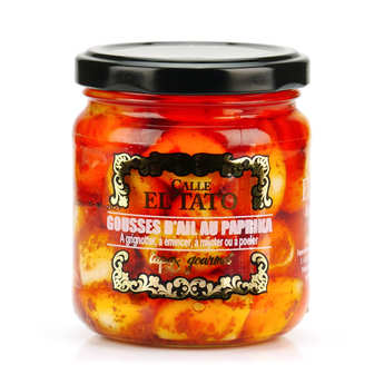 El Tato - Pickled garlic with Paprika