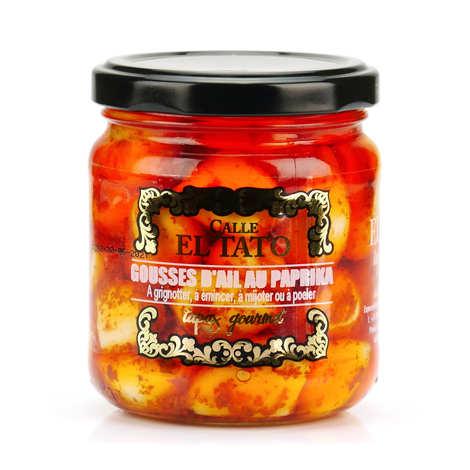 El Tato - Gousses d'ail au paprika