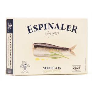 Espinaler - Mini sardines à l'huile d'olive - Sardinillas