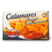 Orbe - Calamars en morceaux à la sauce américaine