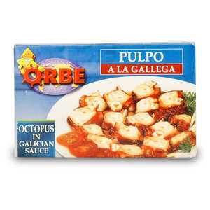 "Orbe - Octopus with ""Galician sauce"""