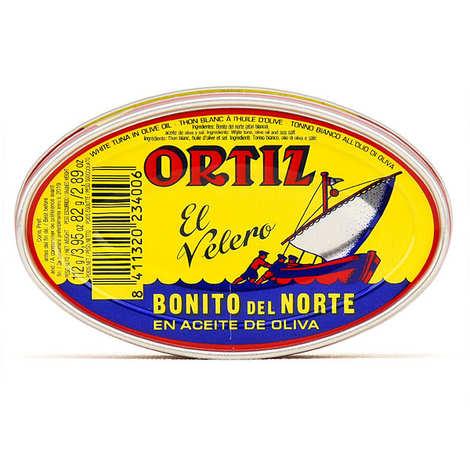 Ortiz - Thon blanc germon de Gascogne à l'huile d'olive