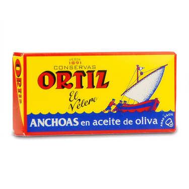 Filets d'anchois de Gascogne à l'huile d'olive