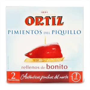 Ortiz - Peppers stuffed with white tuna