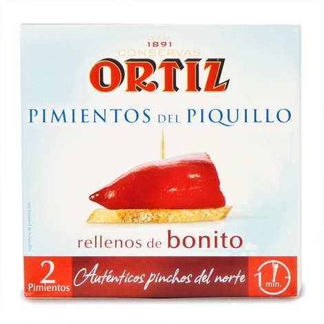 Ortiz - Poivrons farcis au thon germon